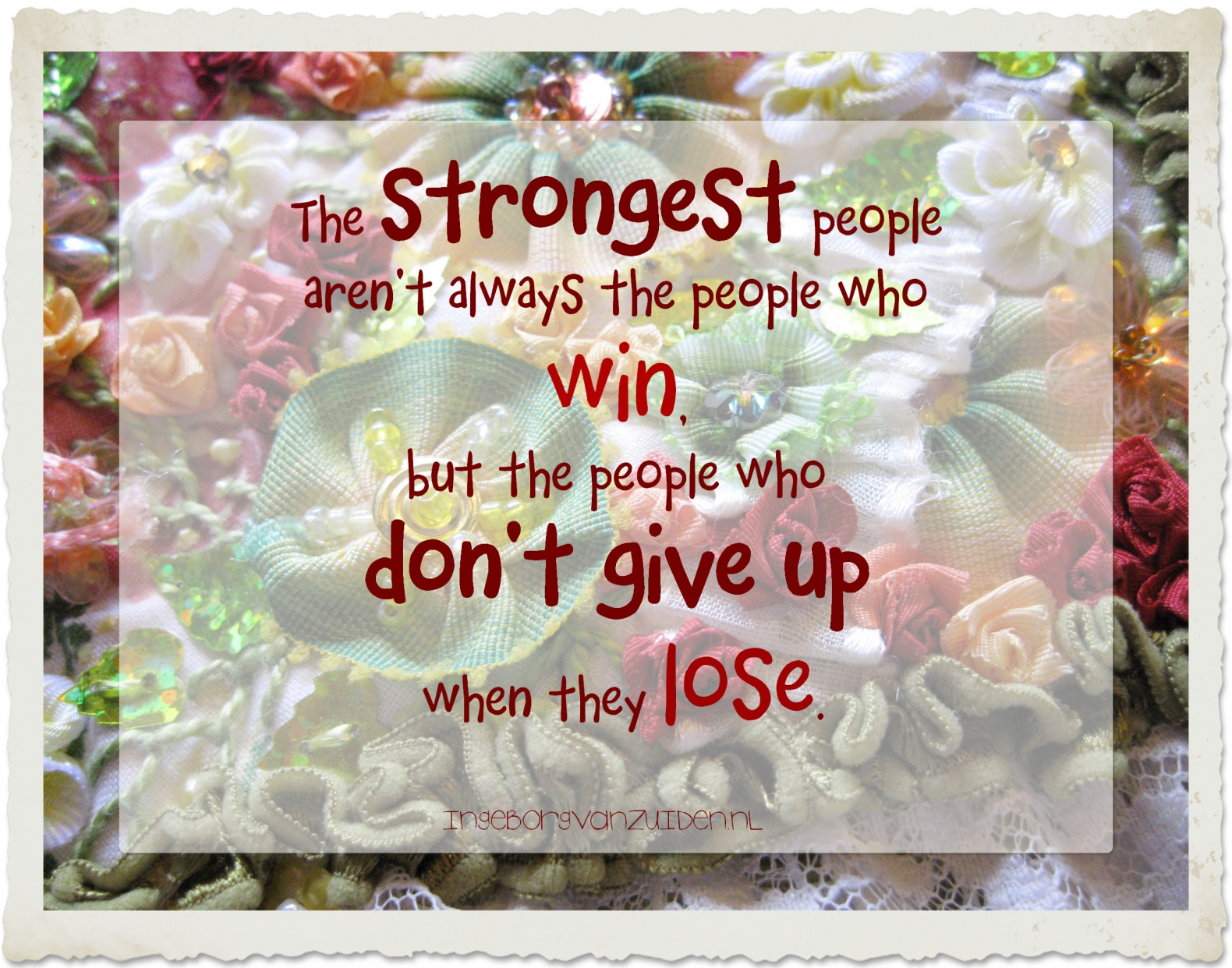 Quote the strongest people